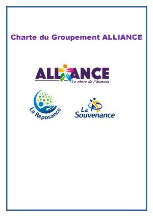 Couverture de la charte du groupe Alliance